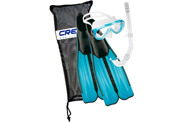 ▷ Juego de aletas, gafas de buceo y snorkel - Cressi Adult Rondinella